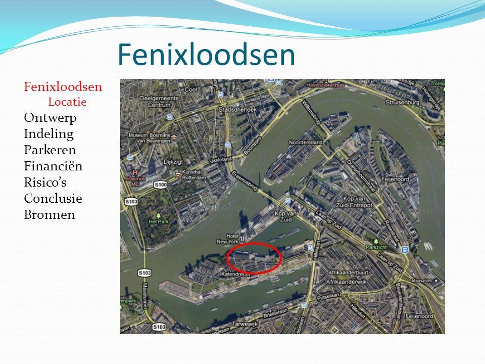 Fenixloodsen Locatie Ontwerp Indeling Parkeren Financiën Risico's Conclusie Bronnen