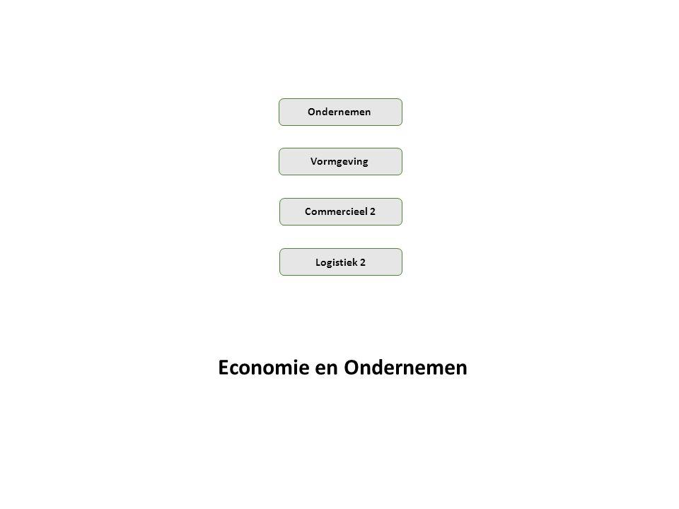 Commercieel 2 Vormgeving Ondernemen Logistiek 2 Economie en Ondernemen