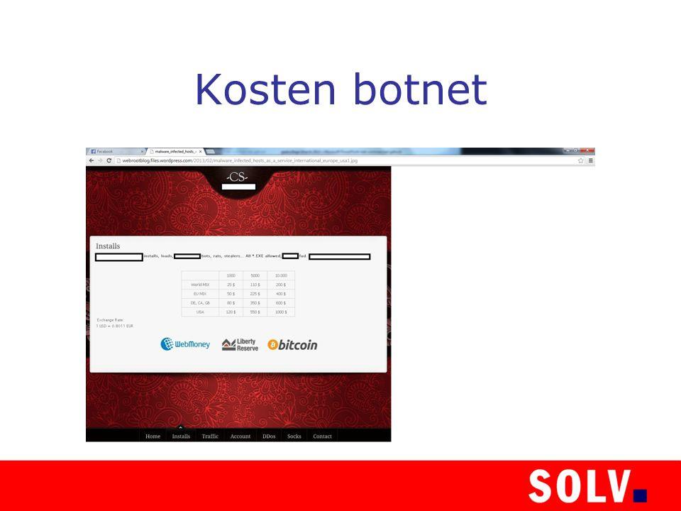 Kosten botnet
