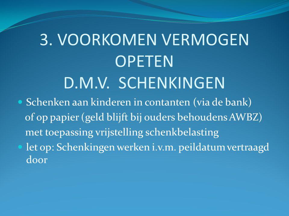 3. VOORKOMEN VERMOGEN OPETEN D.M.V.