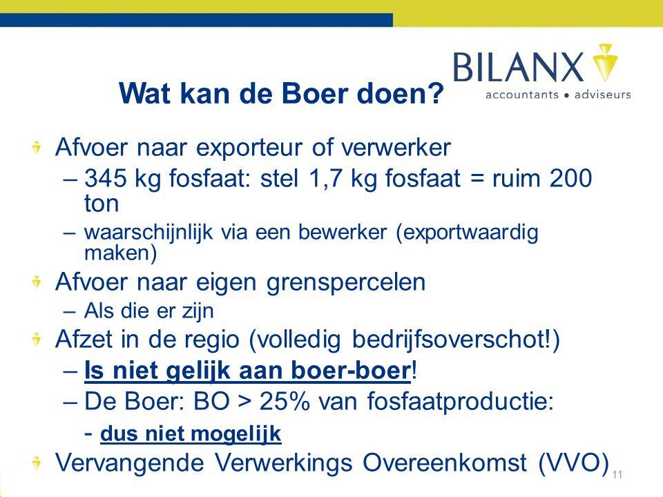 11 Wat kan de Boer doen.