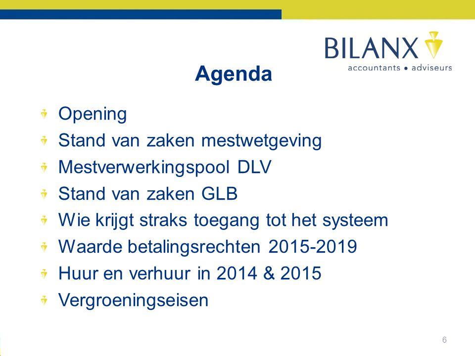 7 Derogatie 2014 Nog geen akkoord met 'Brussel' –Begin februari.