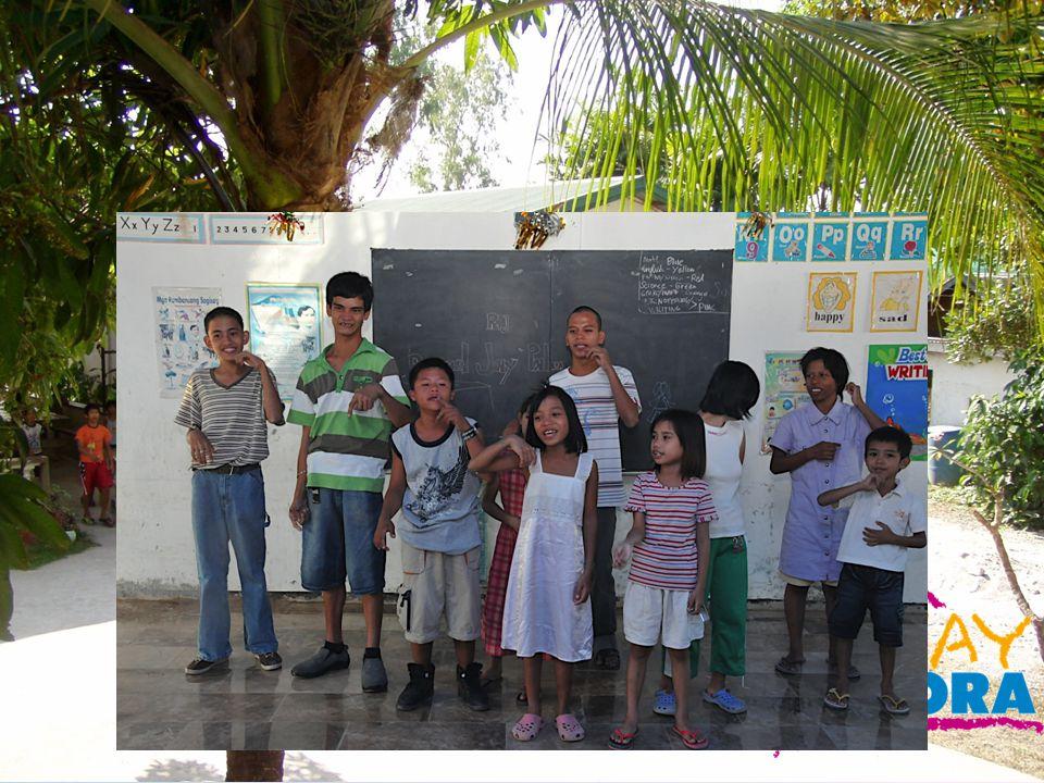 een kindertehuis voor de opvang van straatkinderen en weeskinderen > huisvesting > voeding en beweging > geestelijke verzorging > onderwijs > speciaal onderwijs