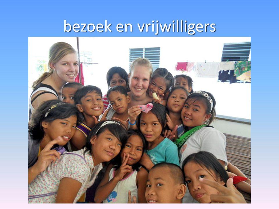 bezoek en vrijwilligers