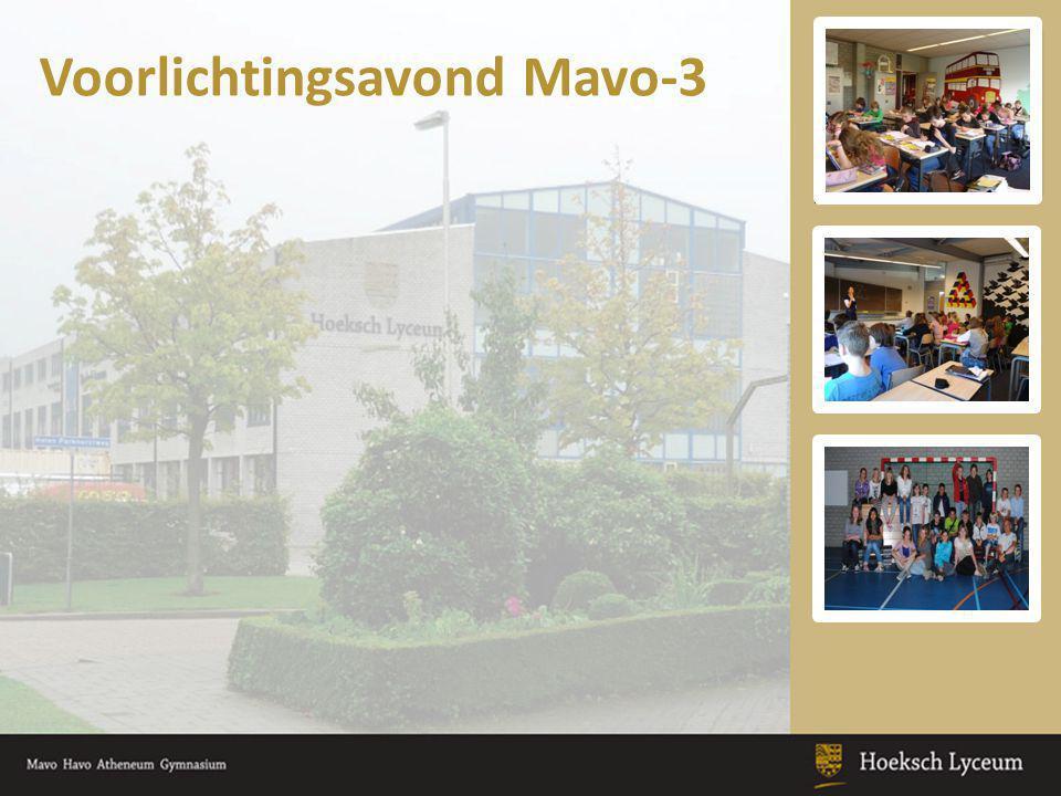 Voorlichtingsavond Mavo-3