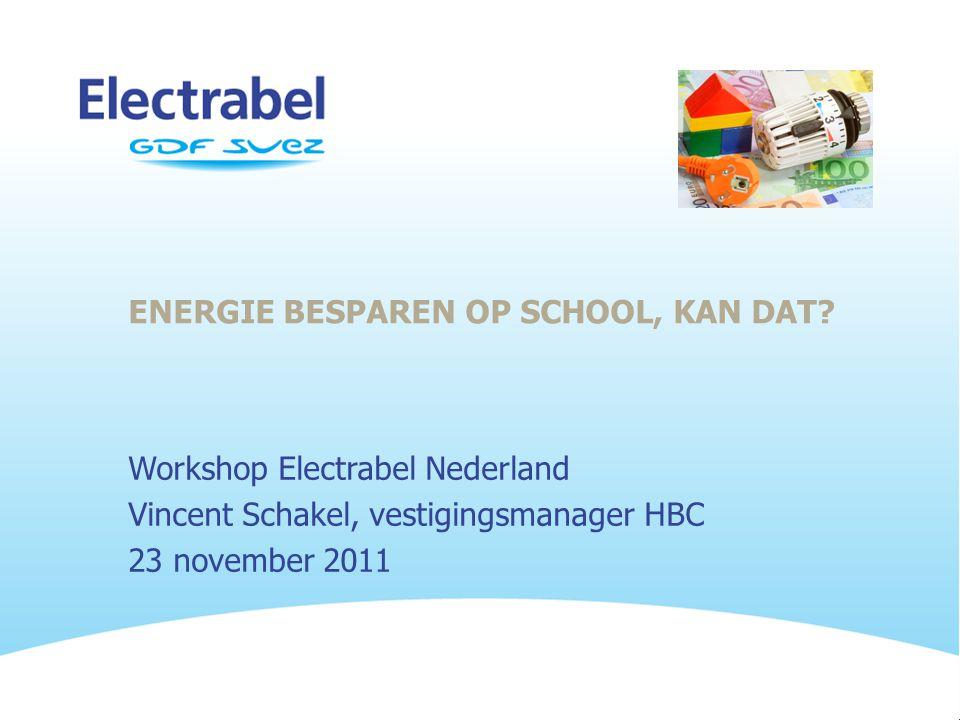 ENERGIE BESPAREN OP SCHOOL, KAN DAT.