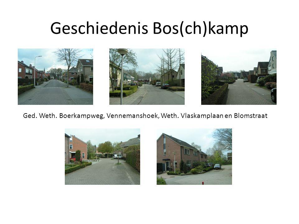 Geschiedenis Bos(ch)kamp Inbreiding t.p.v.