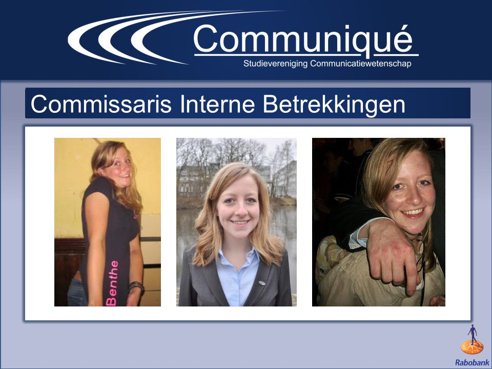 Commissaris Interne Betrekkingen