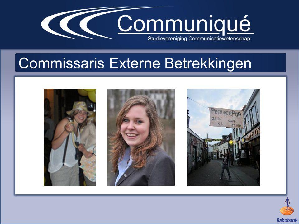 Commissaris Externe Betrekkingen