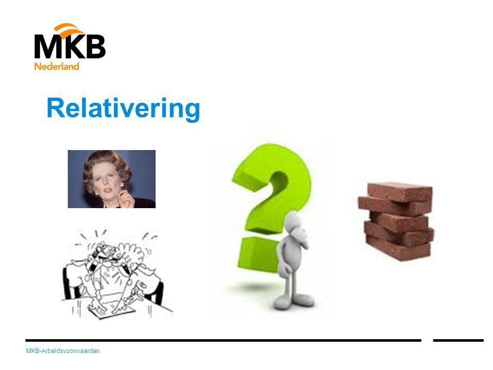 MKB-Arbeidsvoorwaarden Relativering