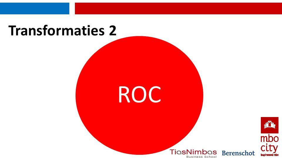 Transformaties 2 ROC