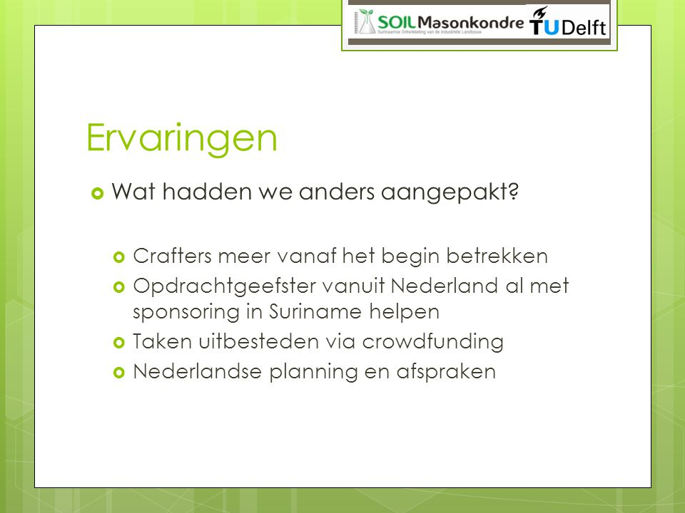 Tips voor agro-SME's A.