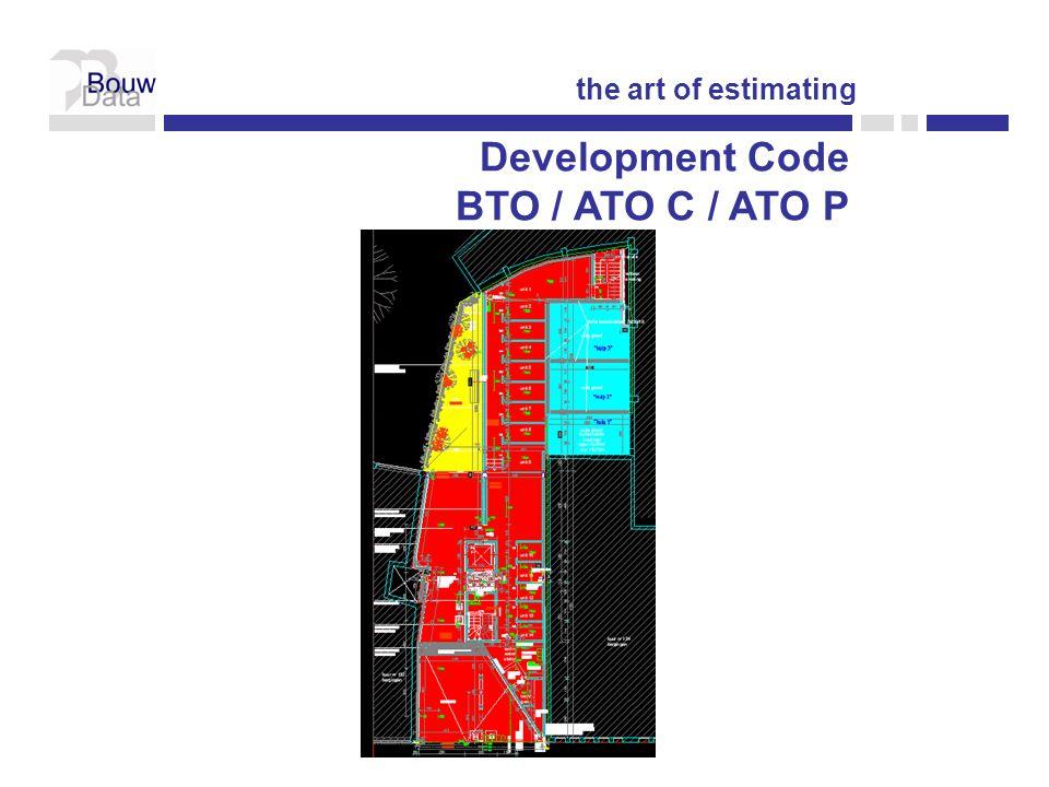 Development Code BTO / ATO C / ATO P