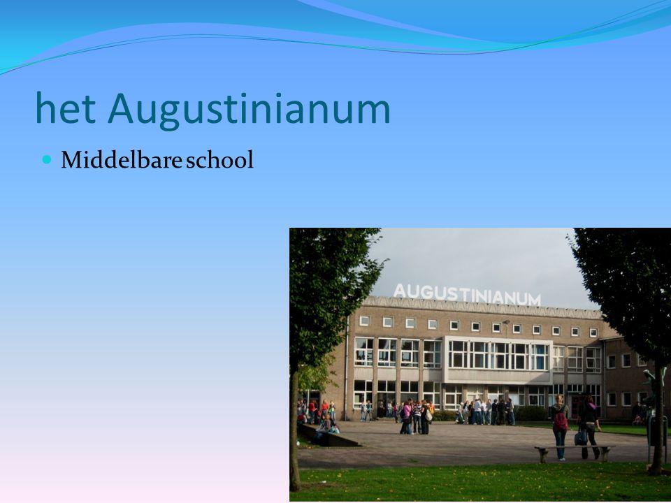 het Augustinianum  Middelbare school