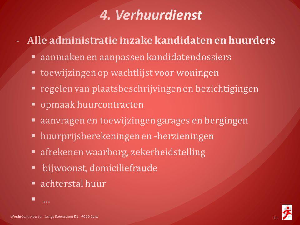 WoninGent cvba-so - Lange Steenstraat 54 - 9000 Gent 11
