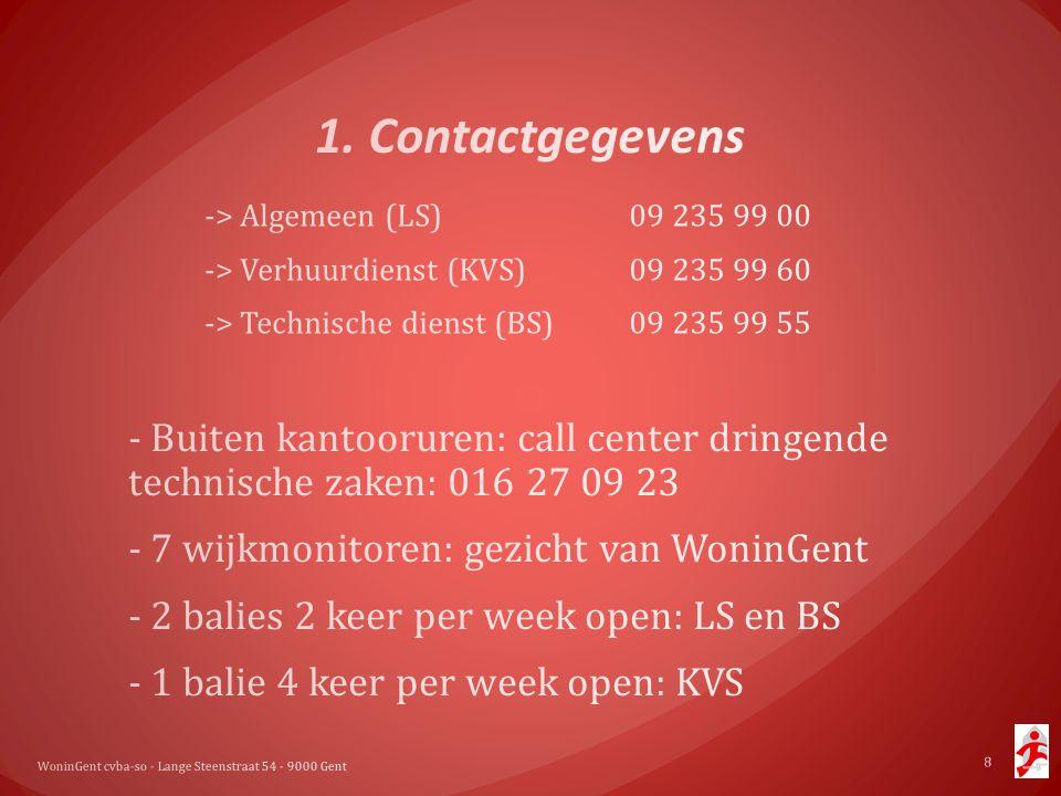 WoninGent cvba-so - Lange Steenstraat 54 - 9000 Gent 8