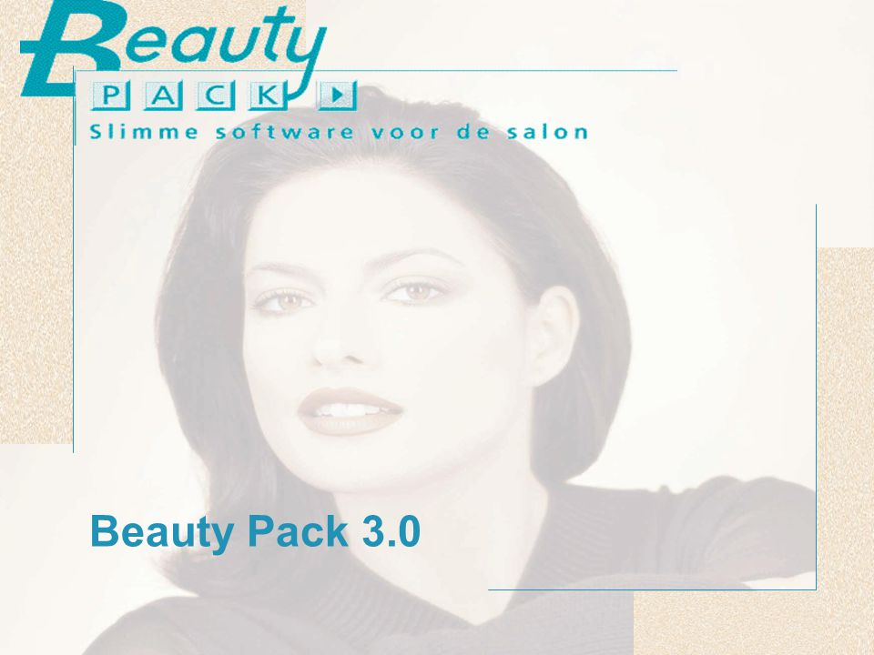 © 2003 Beauty Pack Opzet Beauty Pack