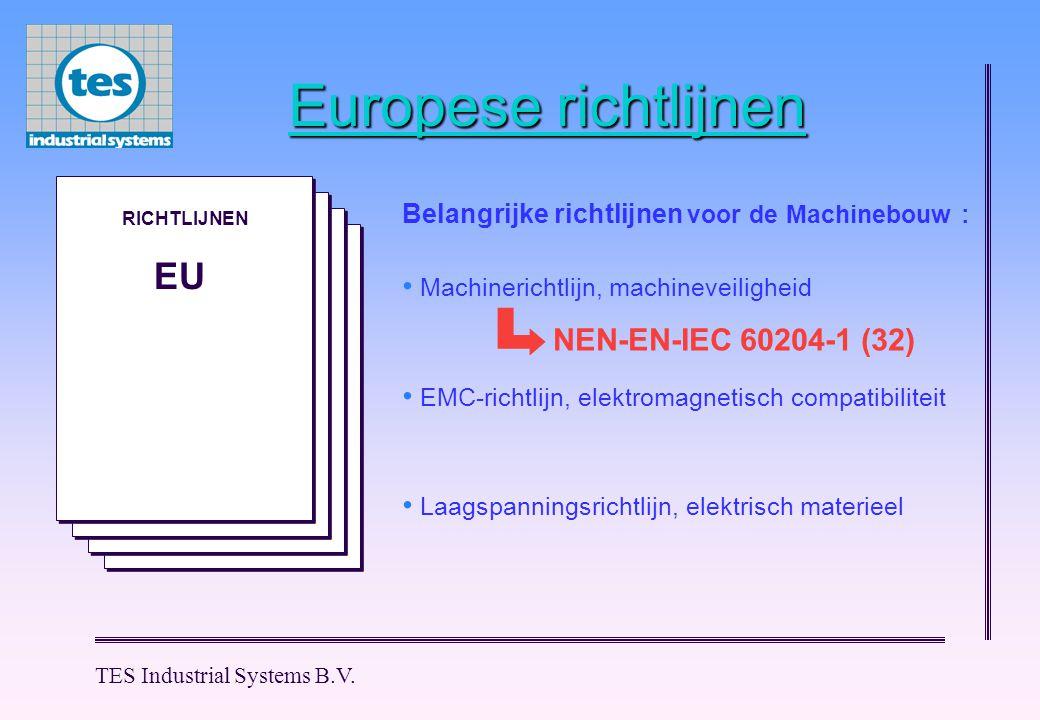 M M M M M M TES Industrial Systems B.V.