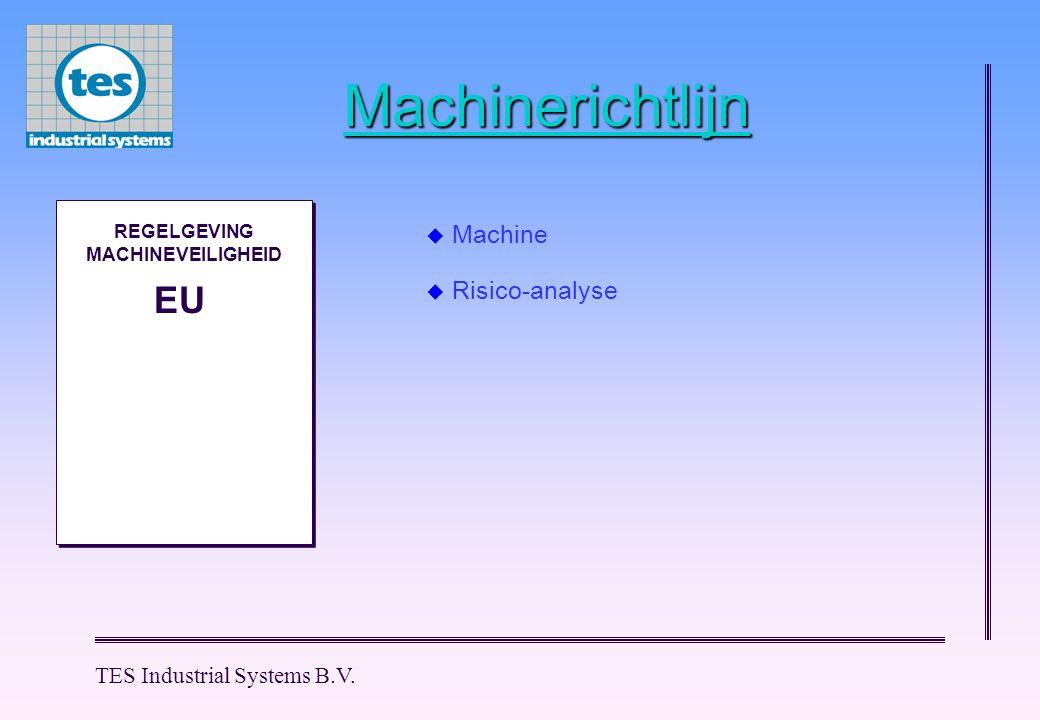 TES Industrial Systems B.V.Begrippen m.b.t.