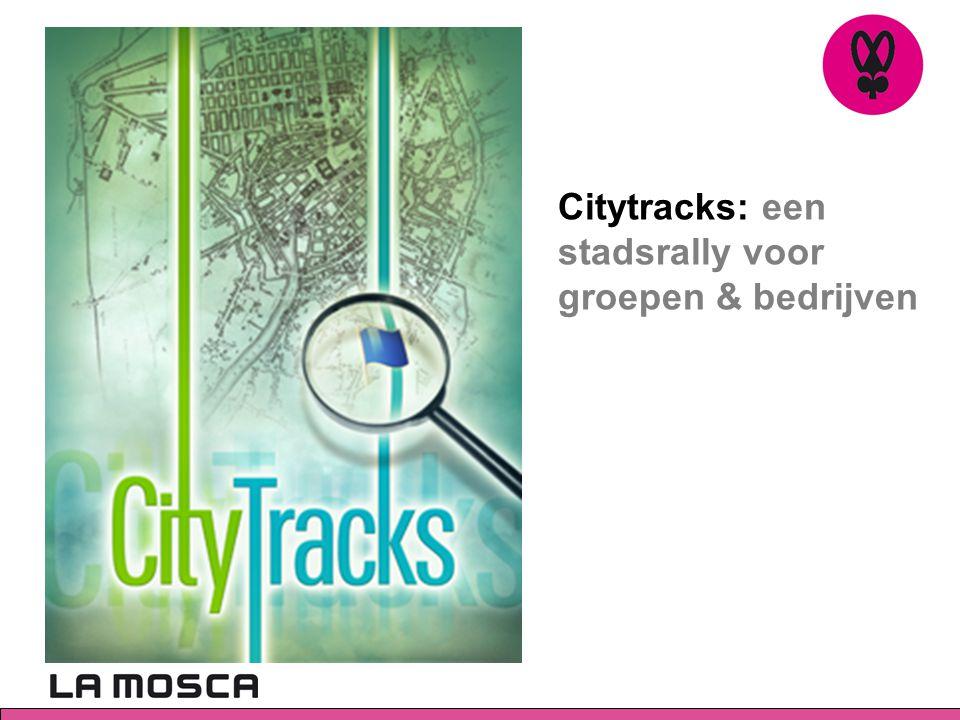 Citytracks: een stadsrally voor groepen & bedrijven