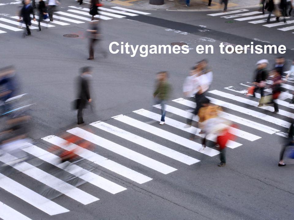 Citygames en toerisme