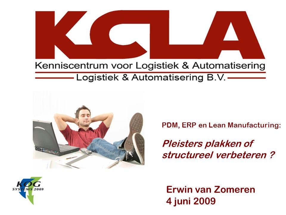 De verandering in onze productarchitectuur 03-juni-200912 VanNaar Nu configureerbaar door slim variantenbeheer in PDM Pleisters plakken of structureel verbeteren ?