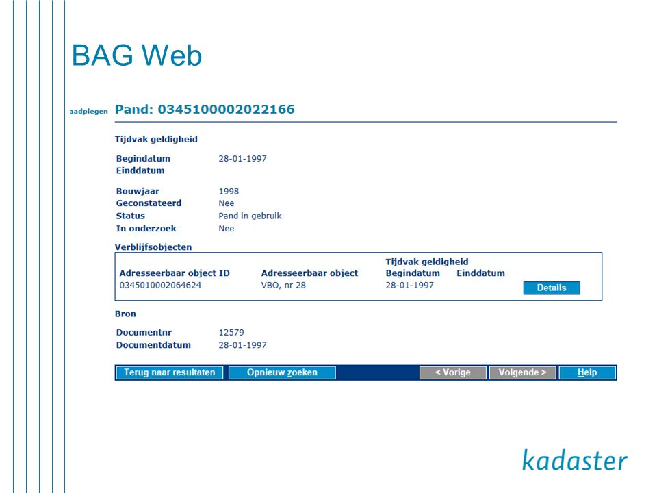 BAG Web