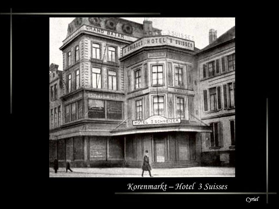Cyriel Korenmarkt – Hotel Konkordia