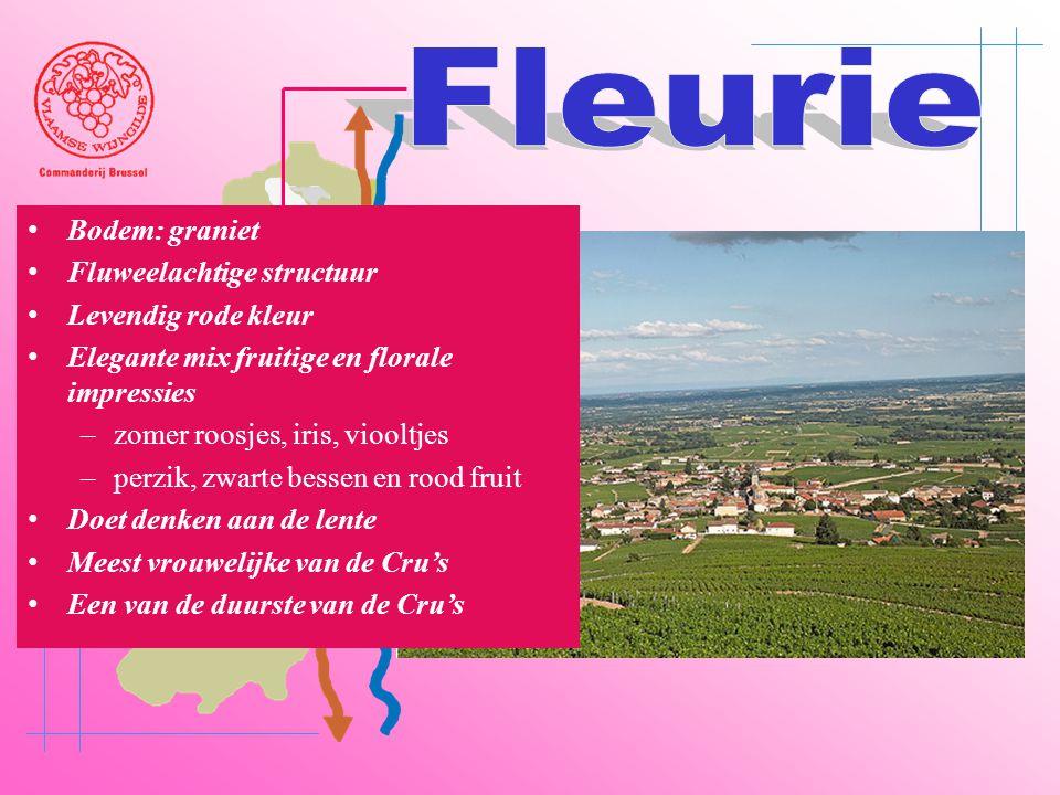 A6 Saône Belleville Le Bois d'oingt Villefranch e Beaujeu • Bodem: graniet • Fluweelachtige structuur • Levendig rode kleur • Elegante mix fruitige en