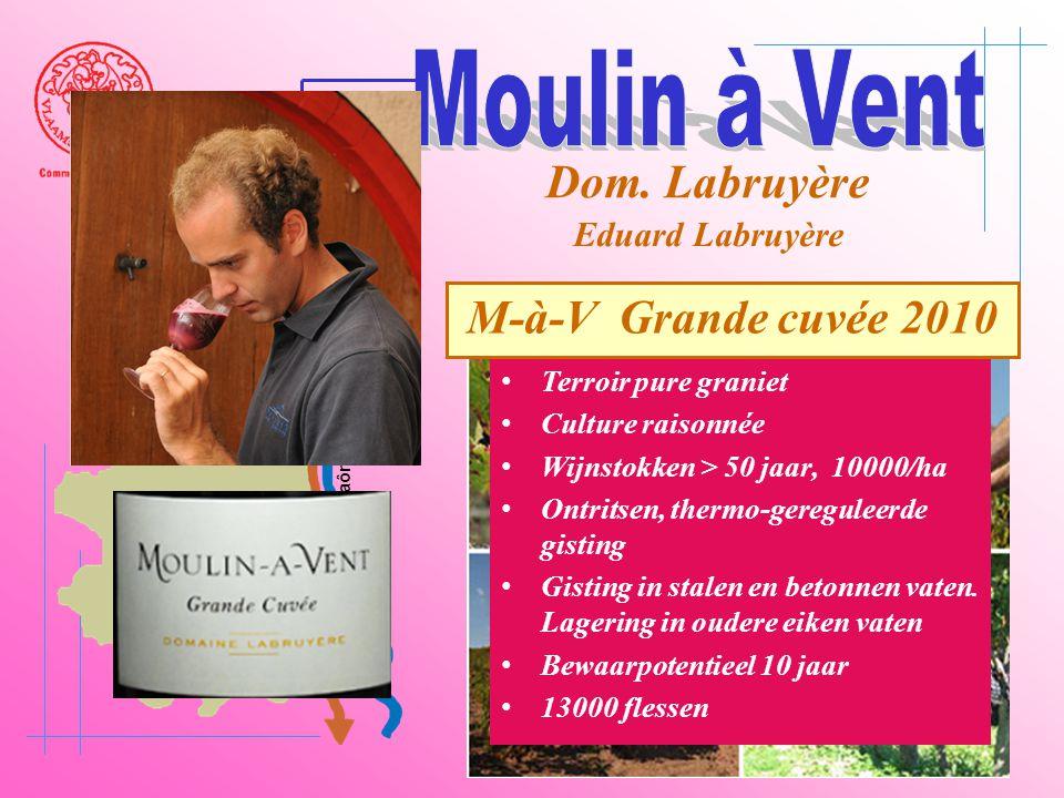 A6 Saône Belleville Le Bois d'oingt Villefranch e Beaujeu Dom. Labruyère Eduard Labruyère • Terroir pure graniet • Culture raisonnée • Wijnstokken > 5