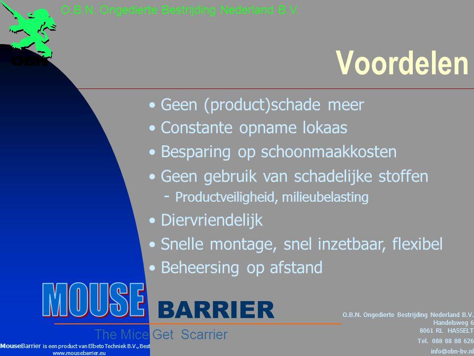 Voordelen O.B.N.Ongedierte Bestrijding Nederland B.V.