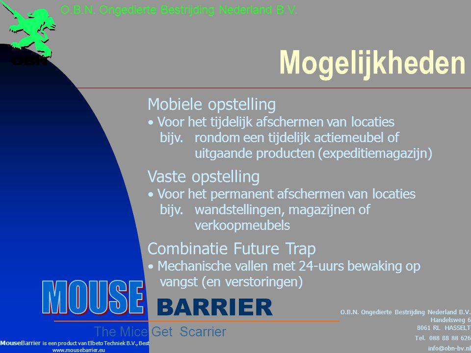 Mogelijkheden O.B.N.Ongedierte Bestrijding Nederland B.V.