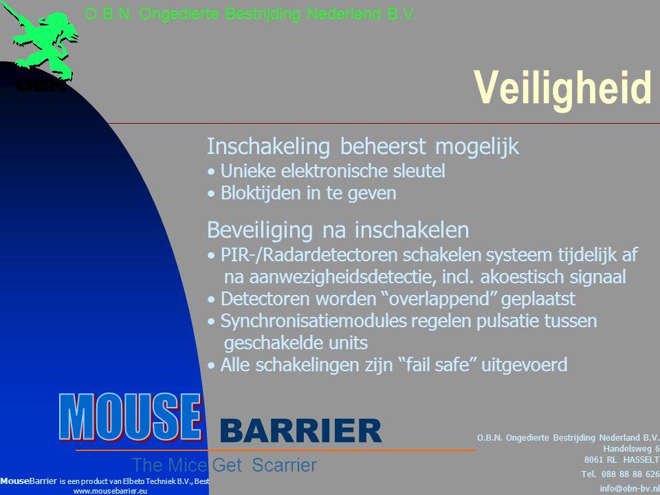 Veiligheid O.B.N.Ongedierte Bestrijding Nederland B.V.