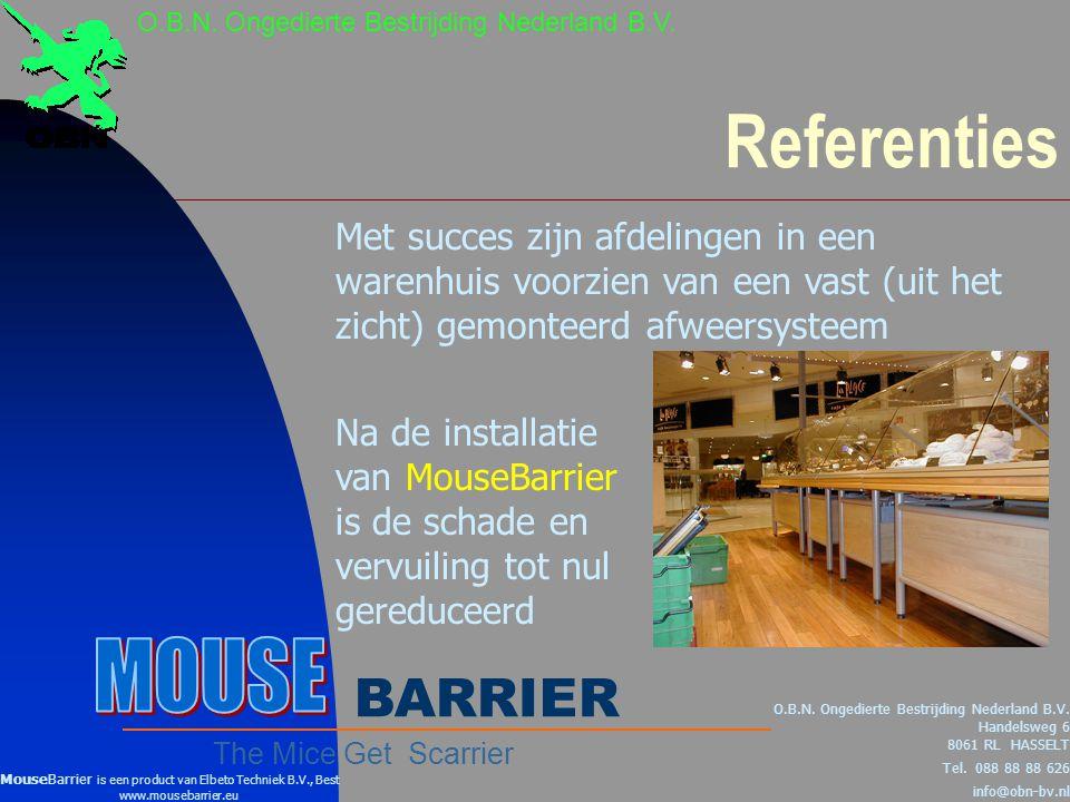 Referenties O.B.N.Ongedierte Bestrijding Nederland B.V.