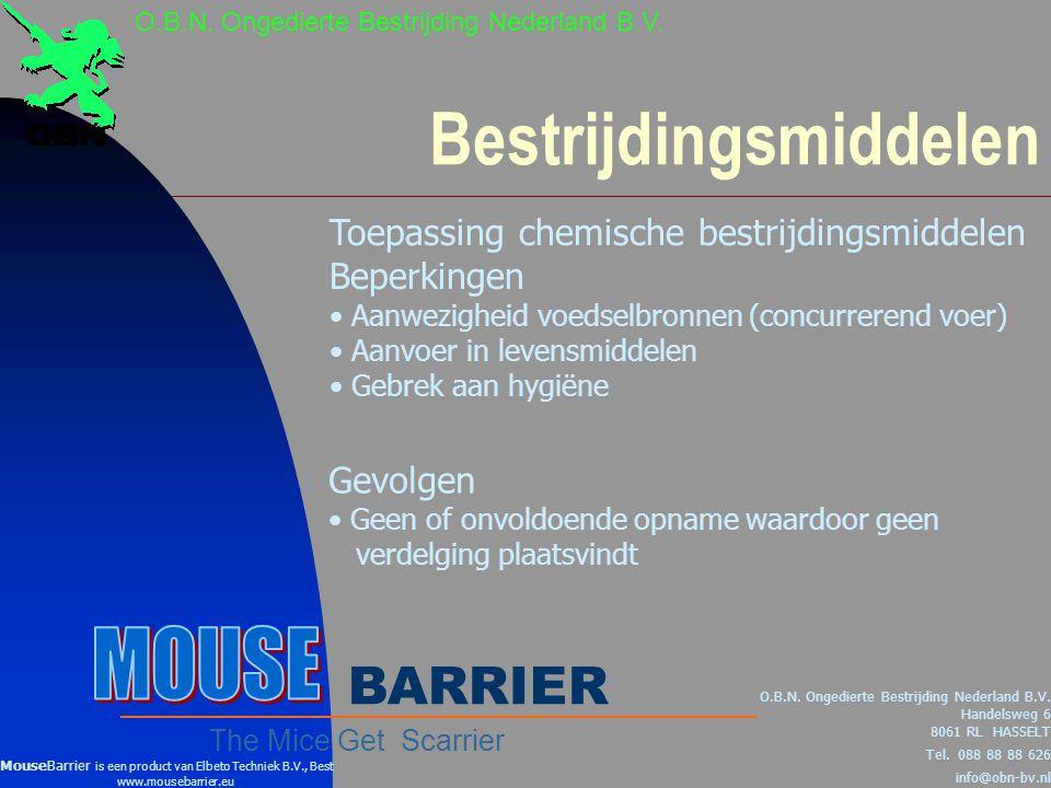 Alternatieve bestrijding O.B.N.Ongedierte Bestrijding Nederland B.V.