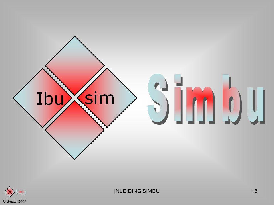 INLEIDING SIMBU14 © Ibusim 2009 Voor verdere inlichtingen kan u terecht op : http://www.geehof.be/simbu •ACTIEBORDEN •LOGISTIEK BELEID •PRODUCTIEBELEID •MARKETINGBELEID •KRINGLOOP VAN GELD IN HET BEDRIJF •EENVOUDIGE VOORSTELLING •TEAMWERKING