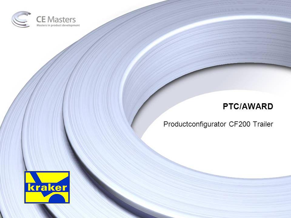 PTC/AWARD Productconfigurator CF200 Trailer