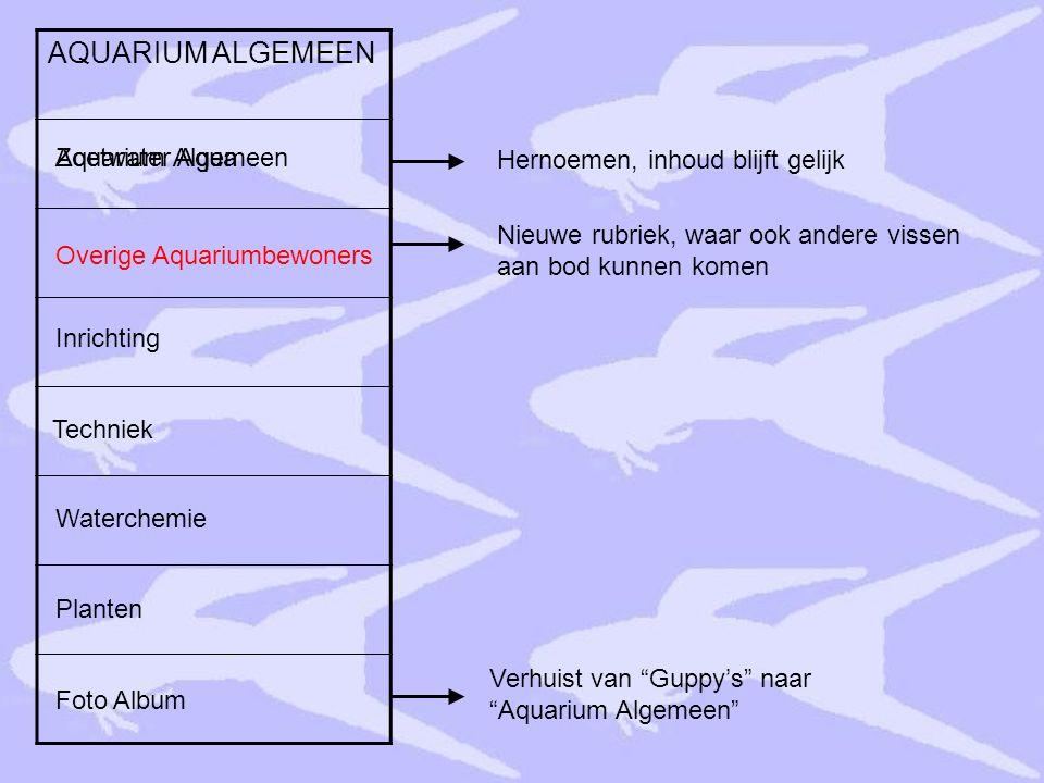 AQUARIUM ALGEMEEN Planten Inrichting Zoetwater Aqua Techniek Waterchemie Aquarium Algemeen Foto Album Overige Aquariumbewoners Hernoemen, inhoud blijf