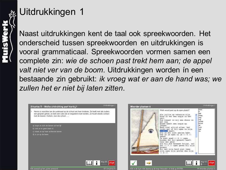 Uitdrukkingen 1 Introductiekorting Uitdrukkingen 1 is vanaf oktober leverbaar, maar kan nu al besteld worden.