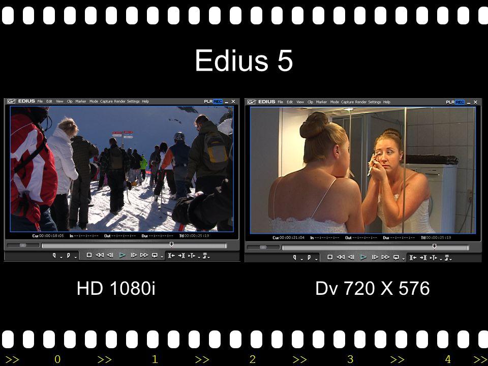 >>0 >>1 >> 2 >> 3 >> 4 >> Edius 5 HD 1080iDv 720 X 576