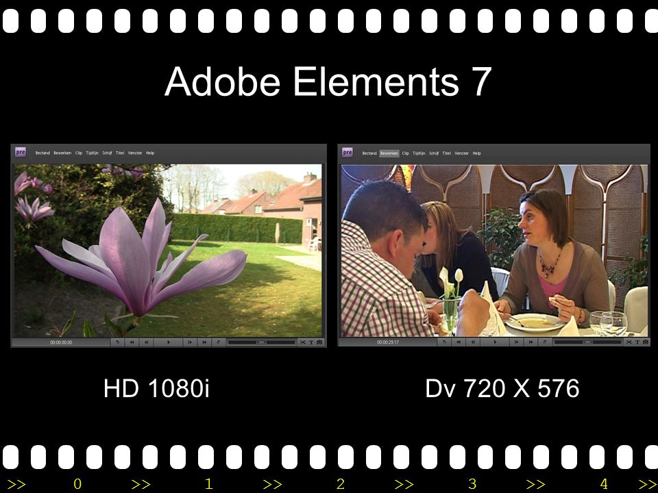 >>0 >>1 >> 2 >> 3 >> 4 >> Adobe Elements 7 HD 1080iDv 720 X 576