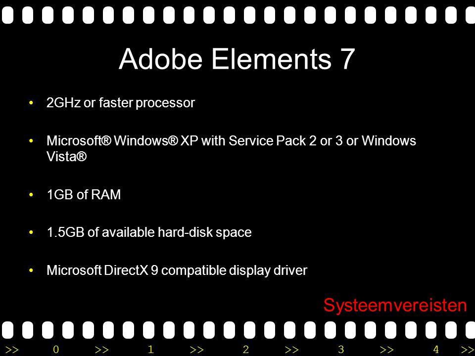 >>0 >>1 >> 2 >> 3 >> 4 >> Premiere CS4 Video formaten