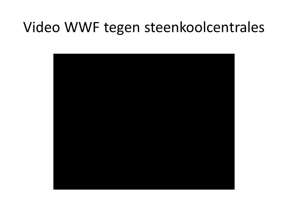 Video WWF tegen steenkoolcentrales