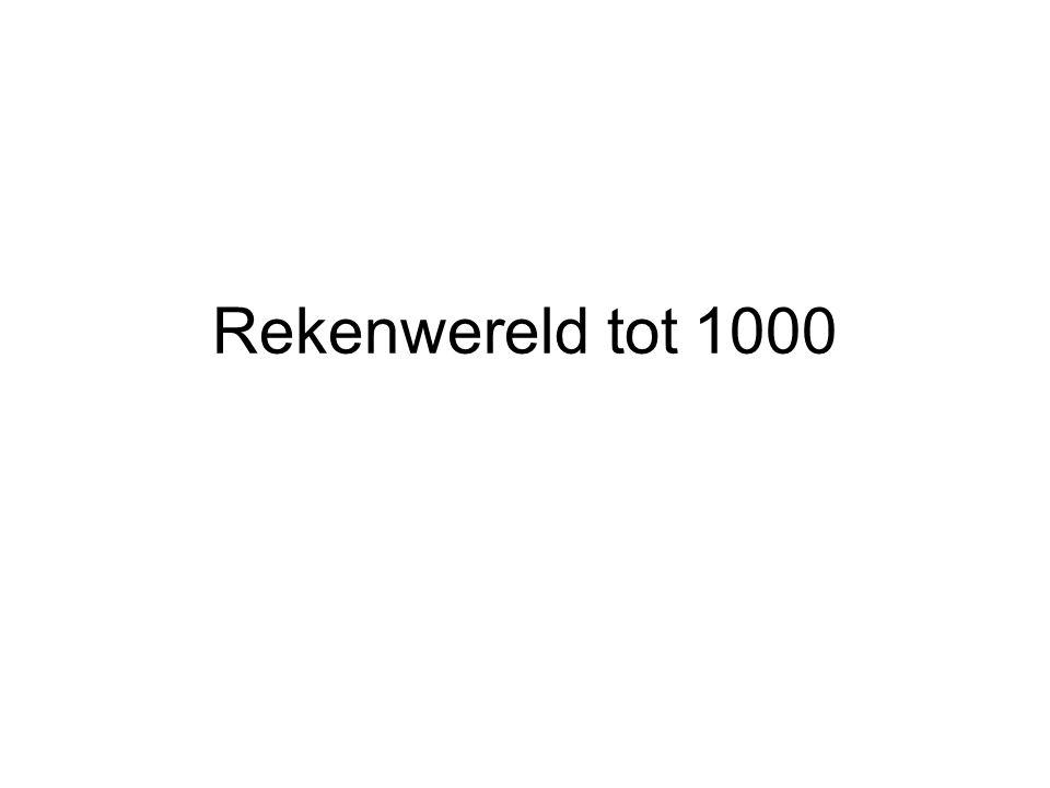 Rekenwereld tot 1000
