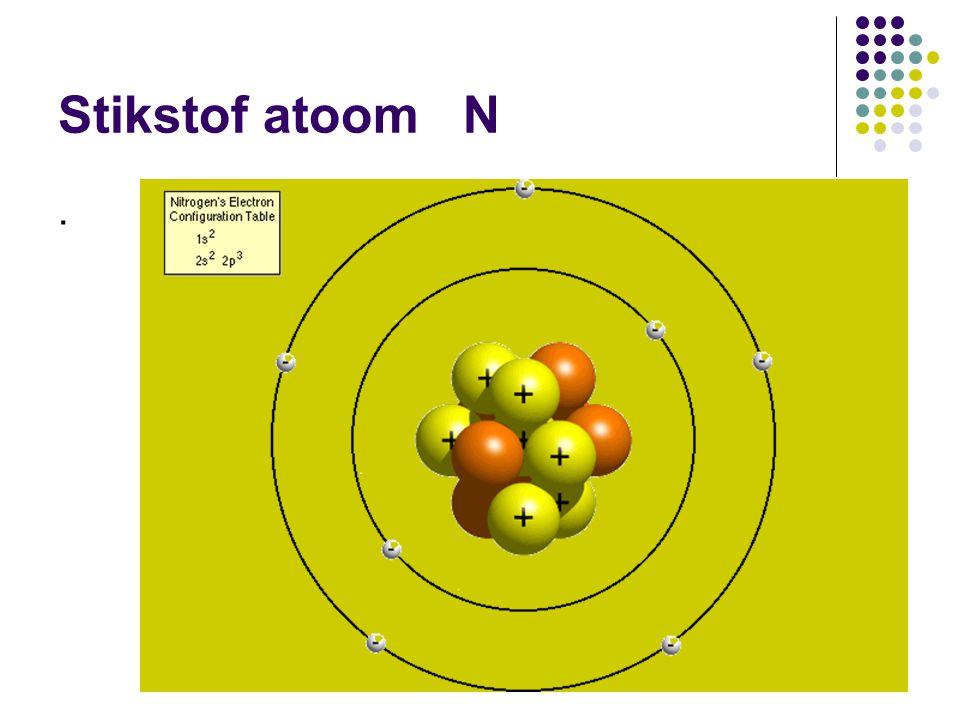 Stikstof atoom N.