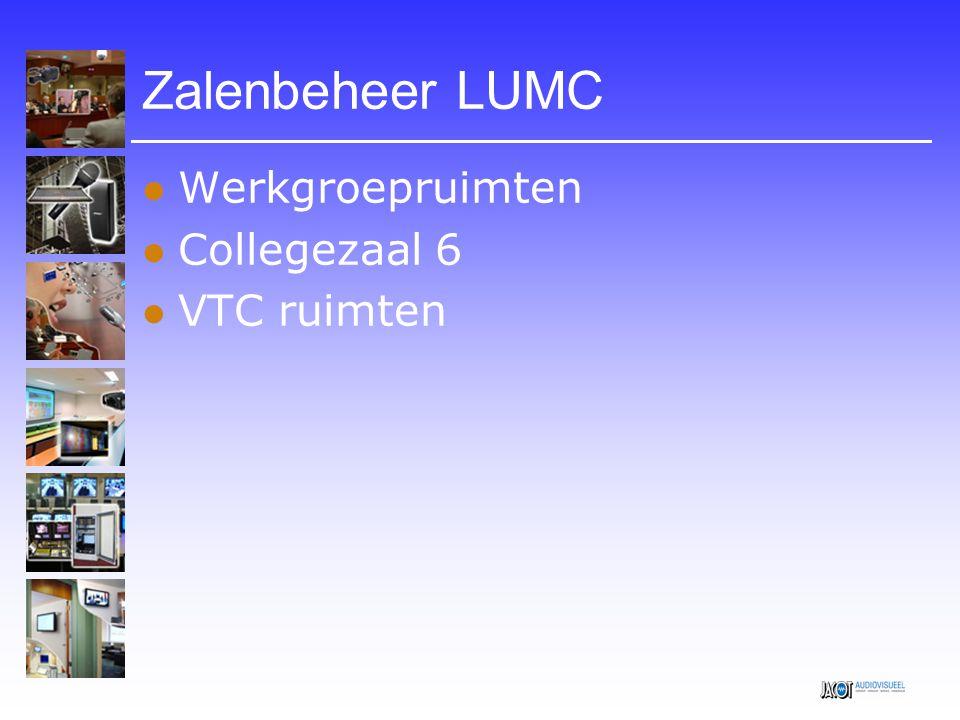 Werkgroepruimten Faciliteiten:  Vaste PC met interactief scherm  Laptop aansluiting  Projector of LCD scherm  Weergave geluid  Bedienpaneel