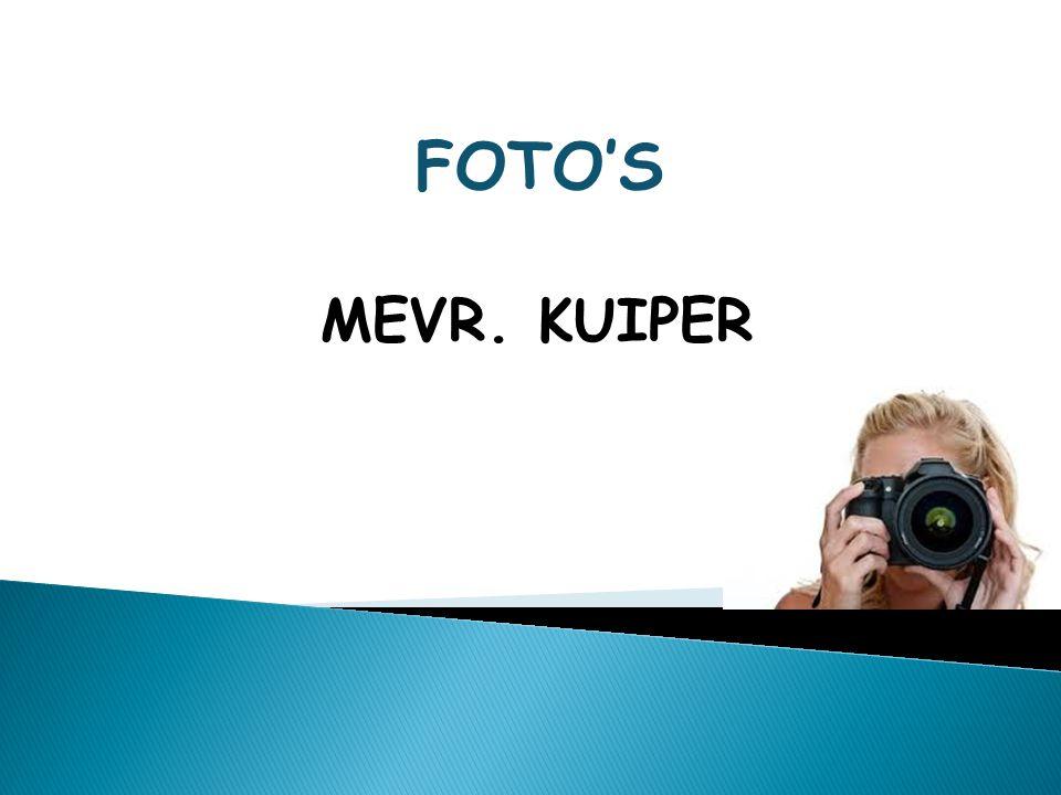 MEVR. KUIPER FOTO'S