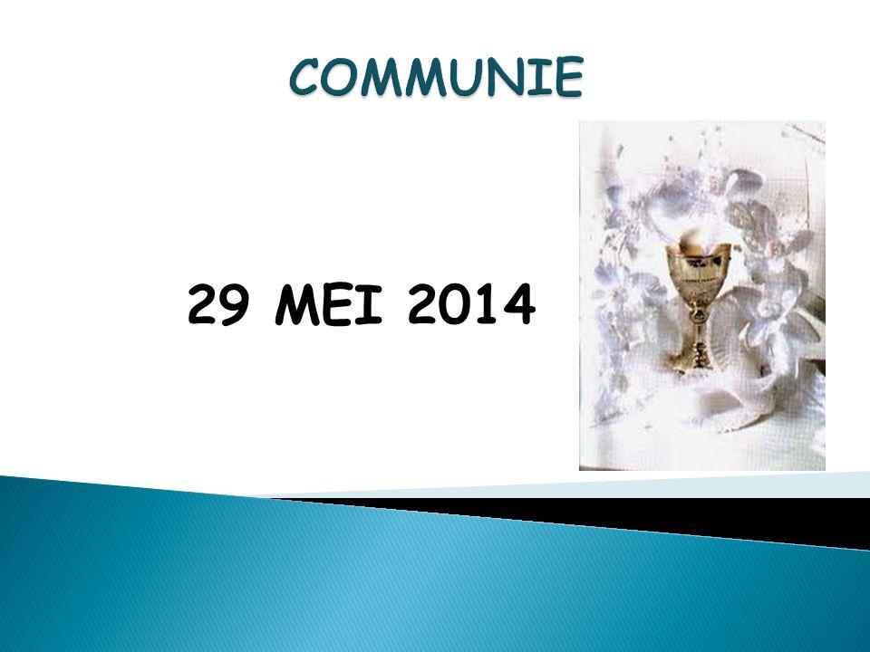 29 MEI 2014 COMMUNIE