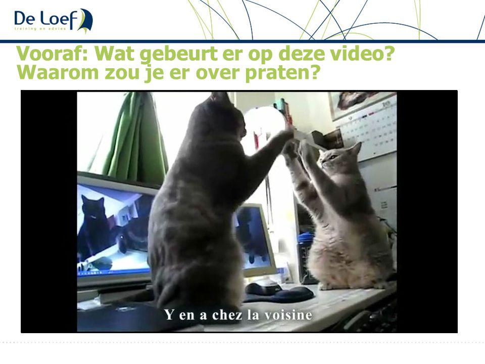 Vooraf: Wat gebeurt er op deze video? Waarom zou je er over praten?