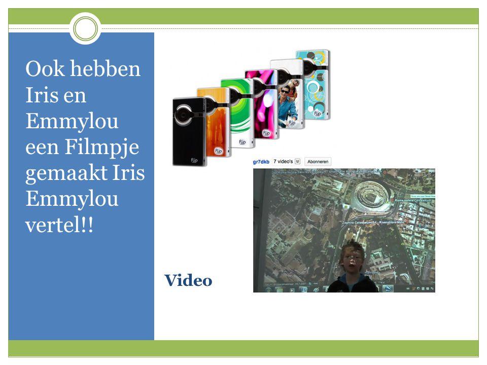 Video Ook hebben Iris en Emmylou een Filmpje gemaakt Iris Emmylou vertel!!